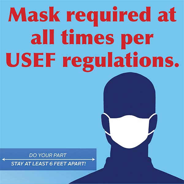 Mask Required Poster 3x3